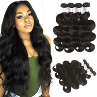 MSH 8A 4 Bundles Brazilian Virgin Body Wave Hair 100% Unproc...