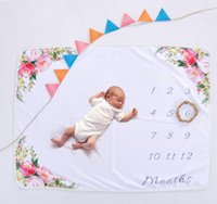 Newborns photography props baby blanket Background Blanket R...