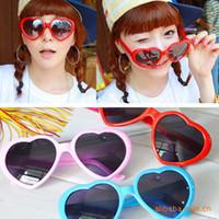 15st hjärtglasögon Billiga solglasögon Hjärtformade solglasögon Tillströmning av människor älskar Retro Oversized Mirror Hot Style Women (Mix Color)