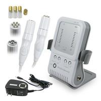 2-in-1-RF-Radiofrequenz-Gesichtsgerät Meso-Massagegerät ohne Nadel zur Hautstraffung und Faltenentfernung Schönheitsgerät für den Heimgebrauch