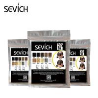 500g SEVICH Hair Color Styling Powder Keratin Haarverdickungsfaser schwarz / dunkelbraun
