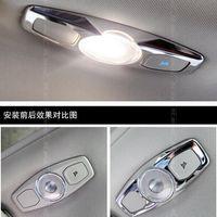 Hochwertige Leselampe Schalterabdeckung Chrom Autozubehör für Ford Focus 3 MK3 Limousine Fließheck 2012 2013 2014