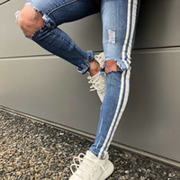 2018 New Summer Spring Thin Jeans Men Male Homme Ripped Jean...