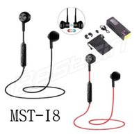 MST- I8 Sports Magnet Wireless Bluetooth Earphones V4. 1 Stere...