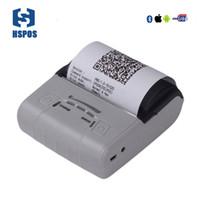HSPOS طابعة حرارية محمولة 80 ملم لاسلكي مع واجهة USB و Bluetooth فائقة البطارية وقت دائم HS-E30UAI