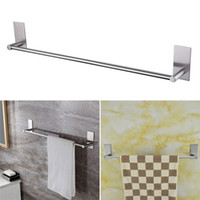 1pcs 3M Single Towel Hanger Wall Stainless Steel Bar Towel R...
