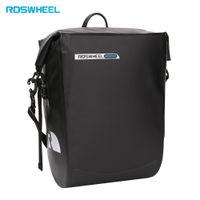 Roswheel 방수 자전거 캐리어 가방 자전거 가방 자전거 뒷면 랙 가방 매달려 pannier