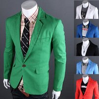Fashion Casual Blazers and Suit Jackets Linen Mens Designer ...