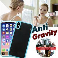 Anti Gravity Büyülü Nano Emme Sihirli Sabit Selfie'nin Kapak Kılıf iPhone 11 Pro Max XS XR X 8 7 6 6S Artı Samsung Note 10 10+ 9 S10 E S9