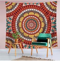 6 Style Colorful Mandala Tapestry Multifunction Beach Towel ...