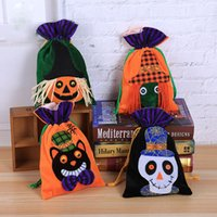 Halloween Gift Non- Woven Bundle Candy Bag Children' s Ha...