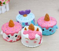 Squishy Unicorn Cake Kawaii Cream Bread Slow Rising Super So...