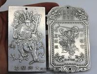 نعمة منزل بلدة تيانشاو الميدالية البرونزية تشانغ Tianshi تمثال الحلي طرد الأرواح الشريرة