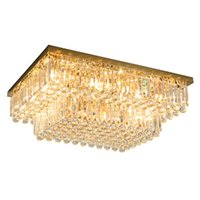 Postmodern dimmable crystal ceiling chandeliers lamps modern...