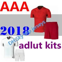2018 adult Jerseys World Cup home adult kits 18 19 away Silv...