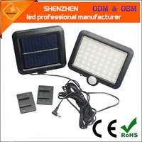 Solar 56LED induzione del corpo umano lampada a led lampada da parete solare tipo split lampada garage a led di illuminazione solare