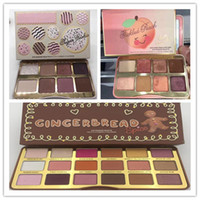 New Beauty Makeup Eyeshadow Palette Faced Gingerbread Spice ...