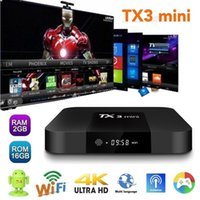 TX3 Mini Android TV Boxes 2GB 16GB Amlogic S905W Android7. 1 ...