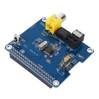 Livraison gratuite Raspberry Pi HIFI DiGi + Carte son numérique I2S SPDIF fibre optique pour Raspberry Pi 3 2 modèle B B +