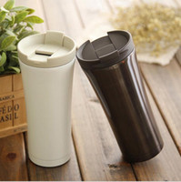 Hot selling stainless steel mug Shaped Insulated Double Wall...