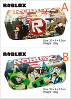 Games Roblox pencil bag Children Teenager Student Pencil Cas...