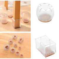 High Quality Silicone Round Square Chair Leg Caps Rubber Fee...