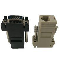 Connecteur VGA vers RJ45 Nouvel adaptateur VGA femelle vers LAN Adaptateur Ethernet Cat5e RJ45 femelle Cat5e