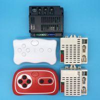 Wellye Kinder elektrische Spielzeugauto Bluetooth-Fernbedienung, reveiver mit Smooth-Start-Funktion 2.4G Bluetooth-Sender 12V