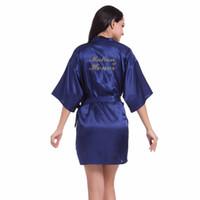 2018 novo estilo de casamento matrona de honra robe robe de noiva roupão floral kimono noite bath dressing dress para as mulheres