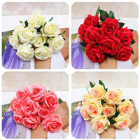 Artificial Flowers Heads Pink Artificial Rose Bud Artificial...