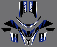 0028 New Style DECALS STICKERS GRAPHICS For Yamaha YFS200 BL...