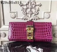 original 2018 brand high quality women handbags Genuine Leat...