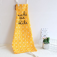 Cotton Cloth Kitchen Apron Printed Unisex Cooking Aprons Ave...
