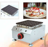 Gaz commercial Dorayaki Pancake Maker Mini Muffin Cake Maker 25 Trous Crêpe Machine Collations Scones Equipment NP693