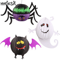 3Pcs lot Halloween Lantern Pendant For Children Halloween De...
