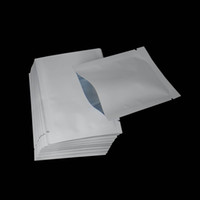 White 7x10cm Glossy Surface Aluminum Foil Food Package Bag 2...