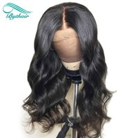 Bythair Natural Wave 13x6 Deep Part Lace Front Human Hair Wi...