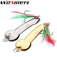 Spinner metal cuchara cebo señuelo de la pesca iscas artificias Hard Baits Silver Gold Bass Pike aparejos de pesca envío gratis