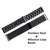 Watch Band Milanese Loop Stainless Steel Strap Bands With Ad...