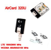 WiFi sbloccato 4g lte Modem Aircard Sierra 320U 4G LTE Modem Scheda WIFI 100 Mbps lte 4g USB Dongle pk E8372 E3131 MF823