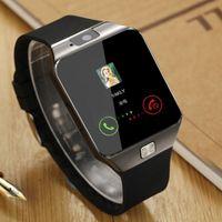 DZ09 смарт часы Dz09 часы браслет часы Android смарт SIM-интеллектуальное мобильный телефон в спящем режиме смарт-часы розничной упаковке