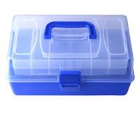 Hengjia 3-Schicht Fischköder Box Gewicht 700g Fischköder Köder Angelgerät mit transparenten Farben große Größe