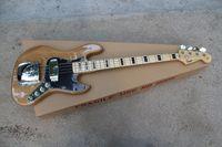 Nuovo arrivo di alta qualità F Vintage '75 Marcus Miller Signature Jazz Bass 4 corde colore naturale chitarra basso classe Spedizione gratuita