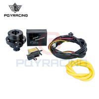 PQY RACING - электрический дизельный (25 мм) двухпоршневой черный Сдувной клапан DV Turbo 1.8 T дизельный самосвальный клапан PQY5011W + 5741BK