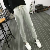 Summer New Fitness Long Pants Female Leisure Soft Trousers f...