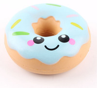 10cm Jumbo Squishy Doughnut Cone Smile Squishies Toy Big Sce...
