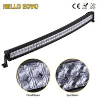 HELLO EOVO 5D 42 inch 400W Curved LED Light Bar for Work Ind...