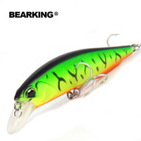 Bearking señuelos de pesca de 100 mm 14,5 g, 5pcs / .lot. Oso Rey 2015 Buena señuelos de pesca Minnow Pesca, calidad profesional Minnow artificial