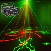 80 Узоров проектор DJ лазерный этап света RG красный зеленый синий светодиодный волшебный эффект диско шарика с контроллером движущейся головной головкой лампа 110V-240V