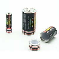 Doob Cones Tube Cas De Rangement De Cigarettes Batterie Shap Packaging Vial Tube Étanche Pill Box Case pour Tabac